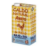 Aneto Caldo natural pollo bajo en sal brik 1l