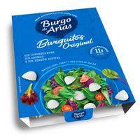 Burguitos naturales de queso BURGO DE ARIAS, bandeja 108 g