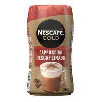 Nescafé Cappuccino Café soluble descafeinado bote 250g