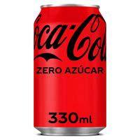 Coca Cola Zero llauna 33 cl