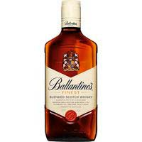 Whisky BALLANTINES, ampolla 70 cl + Got
