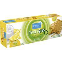 Galeta devoragras sabor iogurt llimona BICENTURY, caixa 160 g