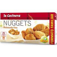 La Cocinera Nuggets familiar rebozado fino 400g