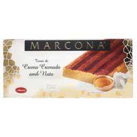 Turrón de crema quemada-nata MARCONA, caja 300 g