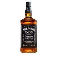 Whisky JACK DANIEL'S, botella 70 cl + Lata