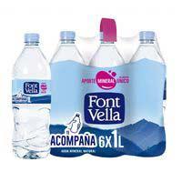 Font Vella agua mineral natural 1l
