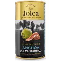Jolca Aceitunas rellenas anchoa del cantábrico 150g