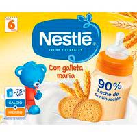 Farinetes líquides amb galeta NESTLÉ,pack2x250ml