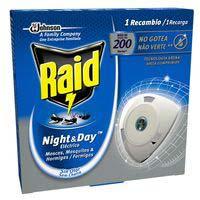 Raid Night & Day Insecticida antimosquitos recambio eléctrico
