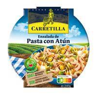 Carretilla Ensalada de pasta con atún 240g