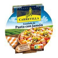 Carretilla Ensalada de pasta con jamón 240g