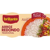 Brillante Vasitos Arroz blanco 2x125g