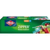 Albal Bolsas congelación zipper 1l 12u