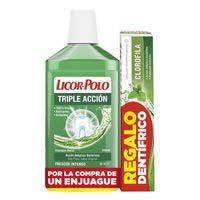 Licor Del Polo Glopejador bucal triple acció 500ml