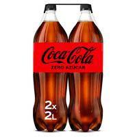 Coca Cola Zero ampolla pack 2x2l