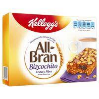 Kellogg's Pastisset All-Bran fruita i fibra 6x40g