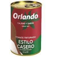Orlando Tomate triturado estilo casero lata 400g