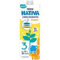 Nestlé Llet Junior creixement amb cereals 1l