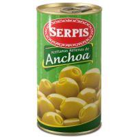Serpis Aceitunas rellenas de anchoa 150g