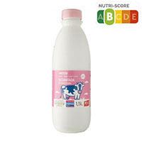Eroski Leche desnatada botella 1,5l