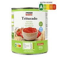 Eroski Basic Tomate triturado lata 800g