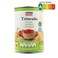 Eroski Basic Tomate triturado lata 400g