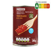 Eroski Tomate troceado lata 390g