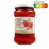 Eroski Pebrots vermells sencers 190g