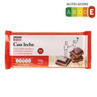 Eroski Basic Chocolate extrafino leche 150g