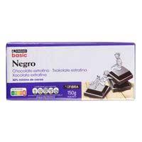 Eroski Basic Xocolata extrafina fondant 150g