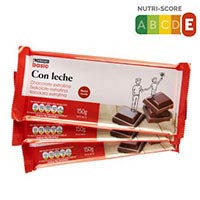 Eroski Basic Chocolate extrafino leche 3x150g