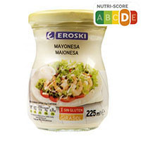 Eroski Maionesa flascó 225ml