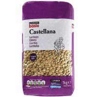 Eroski Basic Llenties castellanes 1kg