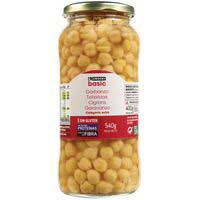 Eroski Basic Garbanzos extra frasco 400g
