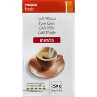 Eroski Basic Café molido mezcla 250g