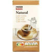 Eroski Basic Cafè mòlt natural 250g