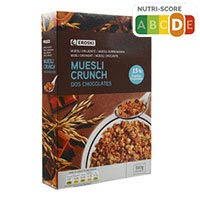 Eroski Cereales Absolut muesli crunch chocolate 500g