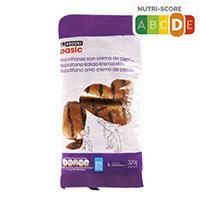 Eroski Basic Napolitana xocolata 8u 320g