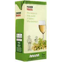 Eroski Basic Vi blanc de taula 1l
