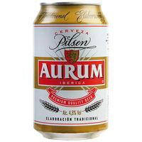 Aurum Cervesa llauna 33cl