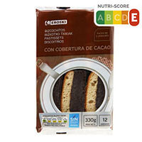Eroski Bizcochitos chocolate 250g