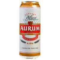 Aurum Cervesa llauna 50cl