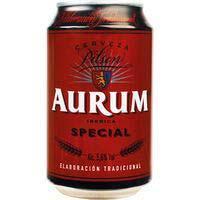 Cervesa especialAURUM, llauna 33cl
