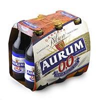 Aurum Cervesa sense alcohol ampolla 6x25cl