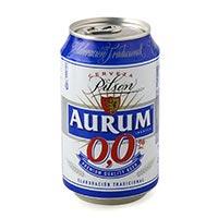 Aurum Cerveza sin alcohol lata 33cl