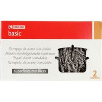 Eroski Basic Fregall Inox. 2u