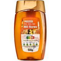 Mel de bresca zero degoteig EROSKI, dosificador 500 g