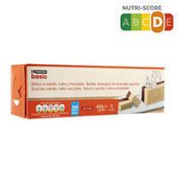 Eroski Basic Bloc vainilla/nata/xocolata 1l