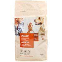 Eroski Comida perro seco mix cordero/arroz 4kg