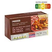 Eroski Mejillón salsa vieira 14/18 111g